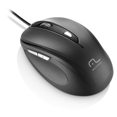 Mouse Óptico USB Comfort MO241 - Multilaser