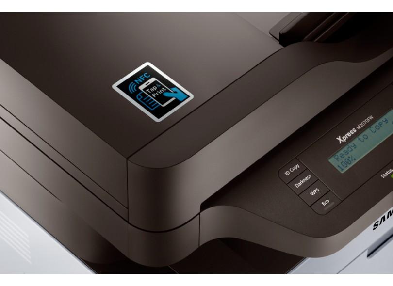 6e8d12e94b397 Multifuncional Laser Samsung SL-M2070FW Sem Fio