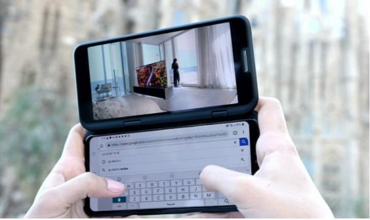 MWC 2019: LG V50 ThinQ 5G com duas telas é uma boa opção para gamers