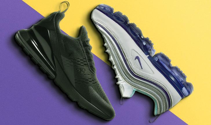 Nike Air Max 270 x Nike Air VaporMax 97: qual o melhor tênis Nike em amortecimento?