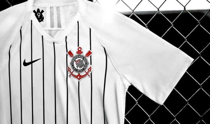 804760e10 Nike apresenta nova camisa do Corinthians com homenagem à Ronaldo