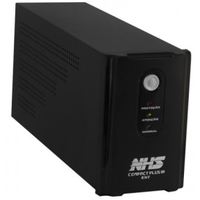 Nobreak Compact Plus III 1500VA Tensão de Entrada Bivolt - NHS