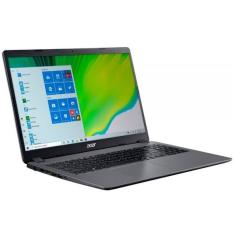 "Notebook Acer Aspire 3 Intel Core i3 1005G1 10ª Geração 4GB de RAM SSD 256 GB 15,6"" Windows 10 A315-56-330J"