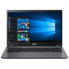 "Notebook Acer Aspire 3 Intel Core i3 1005G1 10ª Geração 8GB de RAM SSD 256 GB 15,6"" Windows 10 A315-56-3090"