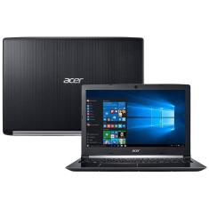 "Notebook Acer A515-51-55DD Intel Core i5 7200U 15,6"" 4GB HD 1 TB Windows 10 7ª Geração"