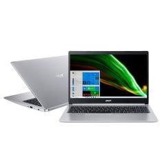 "Notebook Acer Aspire 5 Intel Core i5 1035G1 10ª Geração 8GB de RAM SSD 512 GB 15,6"" Full HD GeForce MX350 Windows 10 A515-55G-53QD"