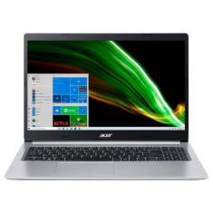 """Notebook Acer Aspire 5 Intel Core i5 1035G1 10ª Geração 8GB de RAM SSD 512 GB 15,6"""" Full HD Windows 10 A515-55-534P"""