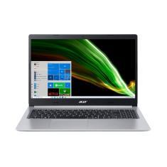 """Notebook Acer Aspire 5 Intel Core i5 1035G1 10ª Geração 8GB de RAM SSD 512 GB 15,6"""" Windows 10 A515-55-50MZ"""