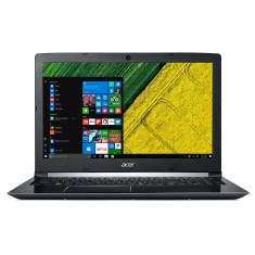 "Foto Notebook Acer A515-51-51UX Intel Core i5 7200U 15,6"" 8GB SSD 256 GB Windows 10 7ª Geração"