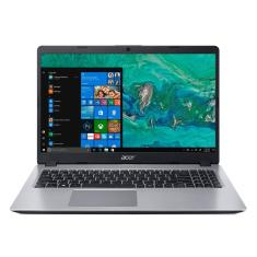 """Notebook Acer Aspire 5 Intel Core i5 8265U 8ª Geração 8GB de RAM SSD 256 GB 15,6"""" Windows 10 A515-52-536H"""