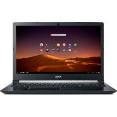 "Notebook Acer A515-51-74ZA Intel Core i7 7500U 15,6"" 8GB HD 2 TB Linux 7ª Geração"