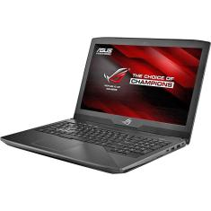 "Foto Notebook Asics GL503 Intel Core i7 8750H 15,6"" 16GB HD 1 TB GeForce GTX 1050 Ti SSD 500 GB"