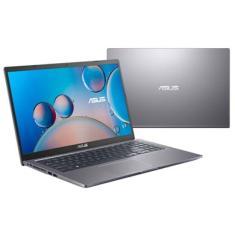 """Notebook Asus Intel Core i5 1035G1 10ª Geração 8GB de RAM HD 256 GB 15,6"""" Full HD GeForce MX130 Windows 10 X515JF-EJ153T"""