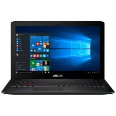 "Notebook Asus GL552VW Intel Core i5 6300HQ 15,6"" 8GB HD 1 TB GeForce GTX 960M Windows 10"