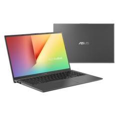 """Notebook Asus VivoBook 15 Intel Core i7 8565U 8ª Geração 8GB de RAM HD 1 TB 15,6"""" Full HD GeForce MX230 Windows 10 X512FJ-EJ551T"""