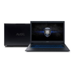"Foto Notebook Avell W1711 Fox Intel Core i7 8750H 17,3"" 8GB HD 1 TB GeForce GTX 1050 Ti SSD 8 GB"