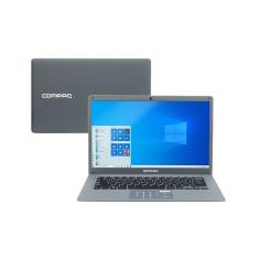 "Notebook Compaq Presario Intel Core i3 5005U 4GB de RAM SSD 120 GB 14"" Windows 10 CQ27"