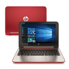 "Notebook HP 11-n226br Intel Celeron N2830 11,6"" 4GB HD 500 GB Windows 10 Touchscreen"