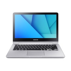 "Foto Notebook Samsung NP740U3M-KD1BR Intel Core i3 7100U 13,3"" 4GB HD 500 GB Windows 10 Touchscreen"