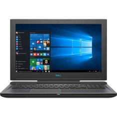 "Foto Notebook Dell G7-7588-U40 Intel Core i7 8750H 15,6"" 16GB HD 1 TB GeForce GTX 1060 SSD 256 GB"