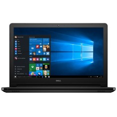 "Notebook Dell i15-5566-A10P Intel Core i3 6006U 15,6"" 4GB HD 1 TB Windows 10 6ª Geração"