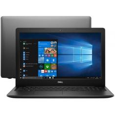 "Notebook Dell Inspiron 3000 I15-3583-M4 Intel Core i5 8265U 15,6"" 8GB SSD 256 GB 8ª Geração"