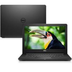 """Notebook Dell i14-3467 Intel Core i3 7020U 14"""" 4GB HD 1 TB Windows 10 7ª Geração"""