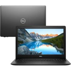 "Notebook Inspiron Dell i15-3584-A10 Intel Core i3 7020U 15,6"" 4GB HD 1 TB 7ª Geração"