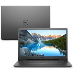 """Notebook Dell Inspiron 3000 Intel Core i5 1135G7 11ª Geração 4GB de RAM SSD 256 GB 15,6"""" Linux 3501-U40P"""