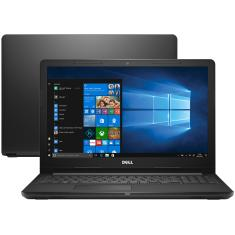 """Notebook Dell i15-3567-A40 Intel Core i5 7200U 15,6"""" 8GB HD 1 TB Windows 10 7ª Geração"""