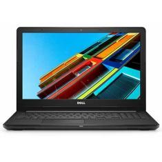 """Notebook Dell i15-3576-A70 Intel Core i7 8550U 15,6"""" 8GB SSD 256 GB Radeon 520 Windows 10"""
