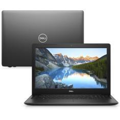 "Notebook Dell Inspiron 3000 i15-3583-U6 Intel Core i7 8565U 15,6"" 8GB HD 2 TB 8ª Geração"