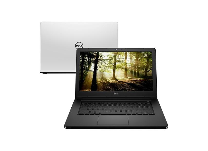 "Notebook Dell i14-5458-D40 Intel Core i5 5200U 14"" 8GB HD 1 TB 5ª Geração  Linux"