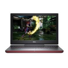 """Notebook Dell i15-7567-A20P Intel Core i7 7700HQ 15,6"""" 16GB HD 1 TB SSD 240 GB GeForce GTX 1050 Ti"""