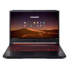 "Notebook Gamer Acer Aspire Nitro 5 Intel Core i5 9300H 9ª Geração 8GB de RAM SSD 512 GB 15,6"" Full HD GeForce GTX 1650 Endless OS AN515-54-574Q"