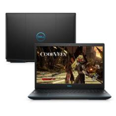 "Notebook Dell G3-3590-M20 Intel Core i5 9300H 15,6"" 8GB HD 1 TB SSD 128 GB GeForce GTX 1650"