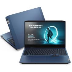 "Notebook Gamer Dell IdeaPad 3i Intel Core i5 10300H 10ª Geração 8GB de RAM SSD 256 GB 15,6"" GeForce GTX 1650 Linux 82CGS00100"