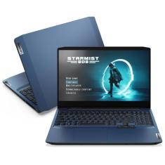 "Notebook Gamer Lenovo IdeaPad 3i Intel Core i7 10750H 10ª Geração 16GB de RAM SSD 512 GB 15,6"" Full HD GeForce GTX 1650 Windows 10 Gaming 82CG0004BR"