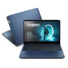 "Notebook Gamer Lenovo IdeaPad 3i Intel Core i7 10750H 10ª Geração 8GB de RAM SSD 512 GB 15,6"" Full HD GeForce GTX 1650 Windows 10 Gaming 82CG0005BR"