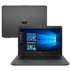 "Foto Notebook HP 246 G6 Intel Core i3 6006U 14"" 8GB HD 1 TB Windows 10 6ª Geração"