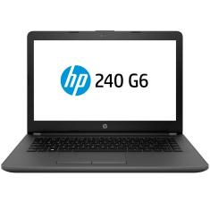 "Notebook HP 240 G6 Intel Core i3 7020U 14"" 4GB SSD 128 GB Windows 10 7ª Geração"