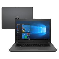 "Notebook HP 246 G6 Intel Core i3 7020U 14"" 4GB SSD 128 GB Windows 10 7ª Geração"