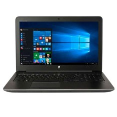"Foto Notebook HP ZBook G3 Intel Core i7 6820HQ 15,6"" 8GB SSD 256 GB Windows 10 6ª Geração"