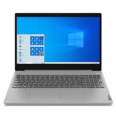 """Notebook Lenovo IdeaPad 3i Intel Core i5 10210U 10ª Geração 8GB de RAM SSD 256 GB 15,6"""" Windows 10 82BS0005BR"""
