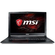 "Foto Notebook MSI GE63 Intel Core i7 7700HQ 15,6"" 16GB HD 1 TB GeForce GTX 1070 SSD 120 GB"