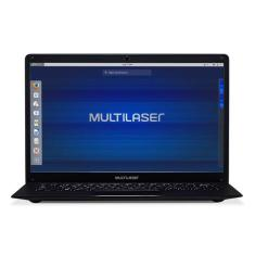 "Foto Notebook Multilaser PC210 Intel Celeron N3350 14"" 4GB HD 500 GB Linux"