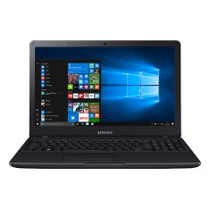 "Foto Notebook Samsung E34 Intel Core i3 6006U 15,6"" 4GB HD 1 TB Windows 10 6ª Geração"