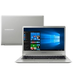 "Foto Notebook Samsung S50 Intel Core i7 6500U 13,3"" 8GB SSD 256 GB Windows 10 6ª Geração"