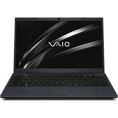 "Notebook Vaio FE14 Intel Core i3 1005G1 10ª Geração 4GB de RAM SSD 128 GB 14"" Full HD Linux VJFE42F11X-B0331H"