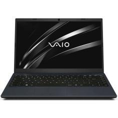 "Notebook Vaio FE14 Intel Core i5 1035G1 10ª Geração 8GB de RAM SSD 256 GB 14"" Full HD Linux VJFE43F11X-B0542H"